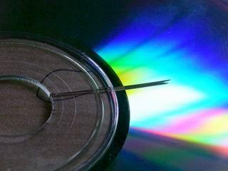 comment reparer un dvd casse